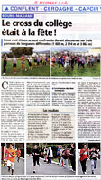 Article Independant Cross du college 2014
